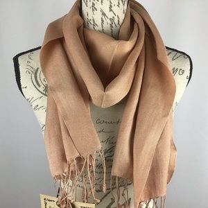 Pashmina Group Inc. Pashmina and Silk blend scarf